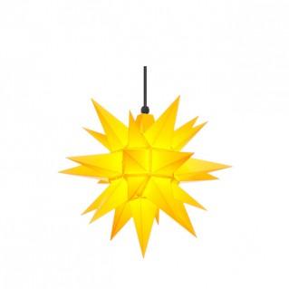 Herrnhuter A4 Außenstern 40 cm gelb