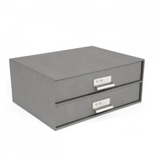 Bigso Box Schubladenbox Birger grau