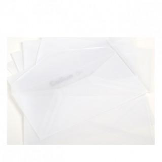 MaySpies Transparent Kuverts Din-lang