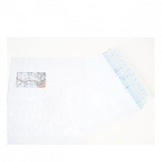 Direktrecycling Landkarten-Versandtasche