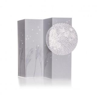Porigami Grußkarte Full Moon