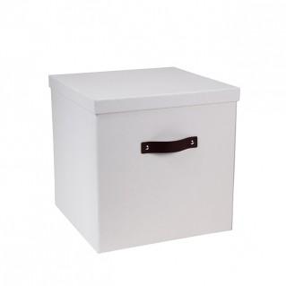Bigso Box Aufbewahrungsbox Texas weiß