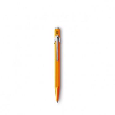Kugelschreiber-849-orange-fluo-Caran-d'ache.jpg