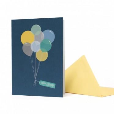 My Pretty Circus Grußkarte Ballons