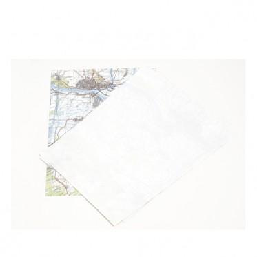 Direktrecycling Landkartenpapier A4