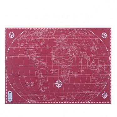 Geschenkpapier World Map Klang und Kleid