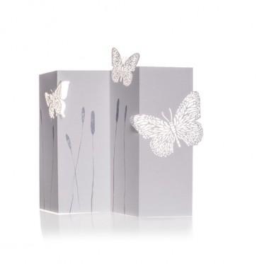 Porigami Grußkarte Butterfly