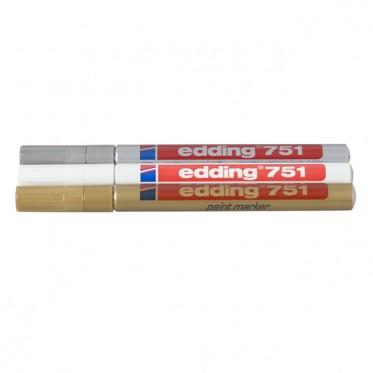 edding 751 weiß