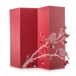 Porigami Grußkarte Rose Hip