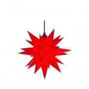 Herrnhuter A4 Außenstern 40 cm rot