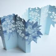 Porigami Grußkarte Bouquet