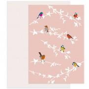Souci Grußkarte Vogelgezwitscher