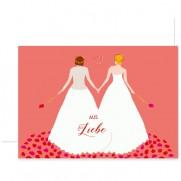 Souci Grußkarte aus Liebe